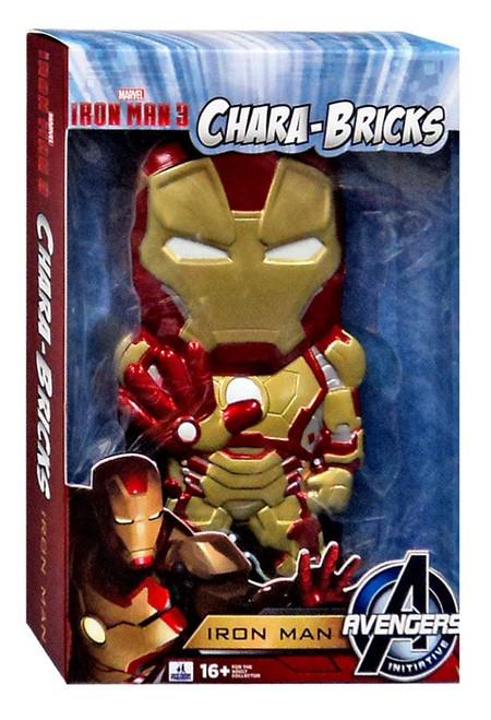 Marvel Iron Man 3 Chara-Bricks Iron Man Exclusive 7-Inch Vinyl Figure