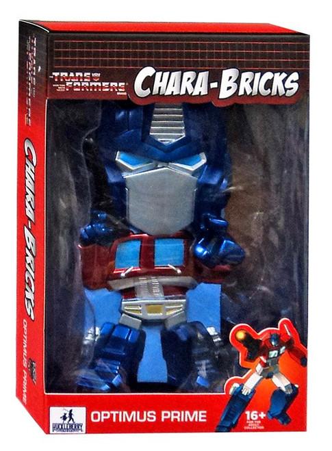 "Transformers Chara-Bricks Optimus Prime Exclusive 7-Inch 7"" Vinyl Figure"