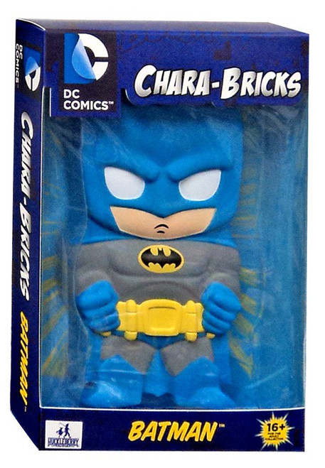 DC Chara-Bricks Batman Exclusive Vinyl Figure [Blue Suit]