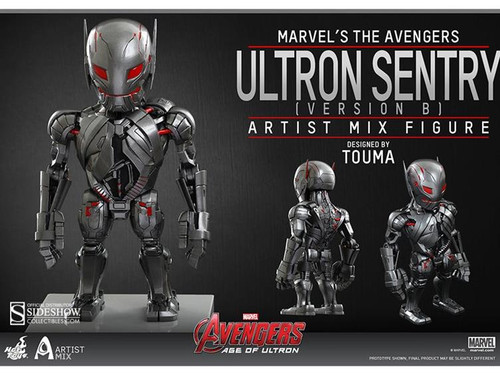 Marvel Avengers Age of Ultron Artist Mix Figure Series 1 Ultron Sentry Action Figure [Version B]