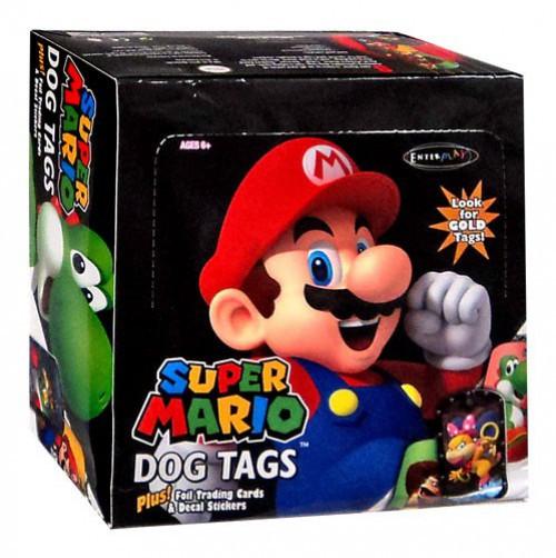 Super Mario Dog Tag Fun Pack Box [24 Packs]