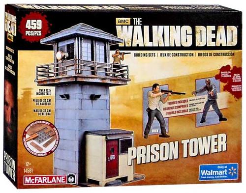 McFarlane Toys The Walking Dead Prison Tower Exclusive Building Set #14561