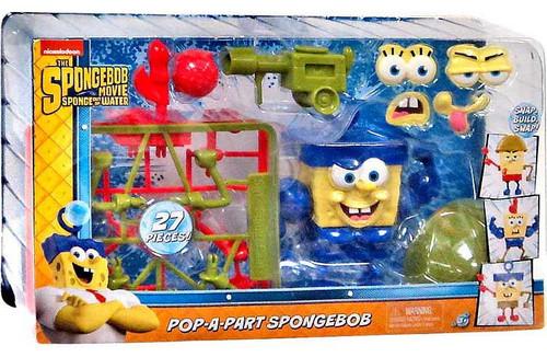 Spongebob Squarepants Sponge Out of Water Pop-A-Part Spongebob Action Figure