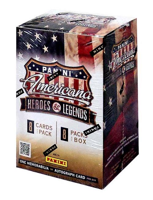 Panini Americana Heroes & Legends Trading Card BLASTER Box