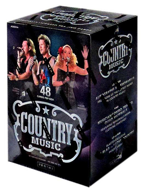 Panini Country Music Trading Card BLASTER Box [48 Cards!]