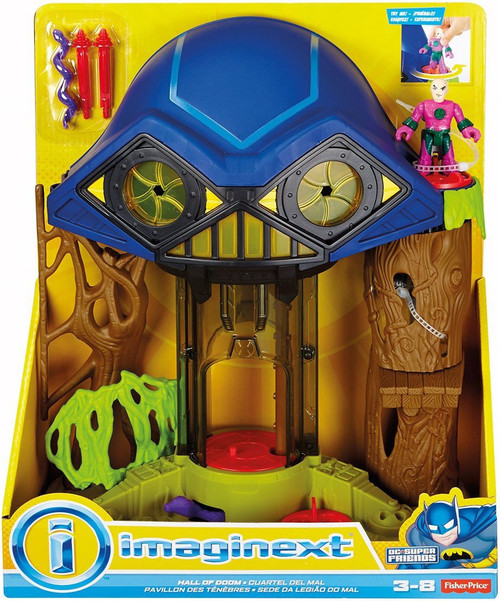Fisher Price DC Super Friends Imaginext Hall of Doom Playset