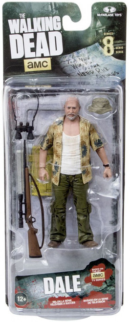 McFarlane Toys The Walking Dead AMC TV Series 8 Dale Horvath Action Figure