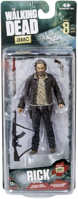 McFarlane Toys The Walking Dead AMC TV Series 8 Rick Grimes Action Figure