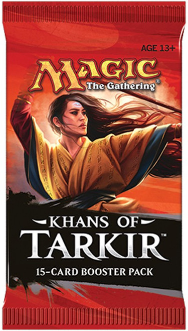 MtG Trading Card Game Khans of Tarkir Booster Pack [15 Cards]