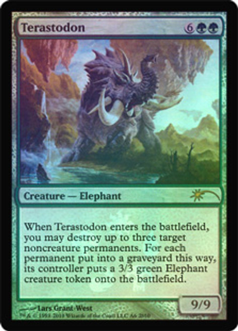 MtG Assorted Promo Cards Promo Terastodon [Resale Promo]