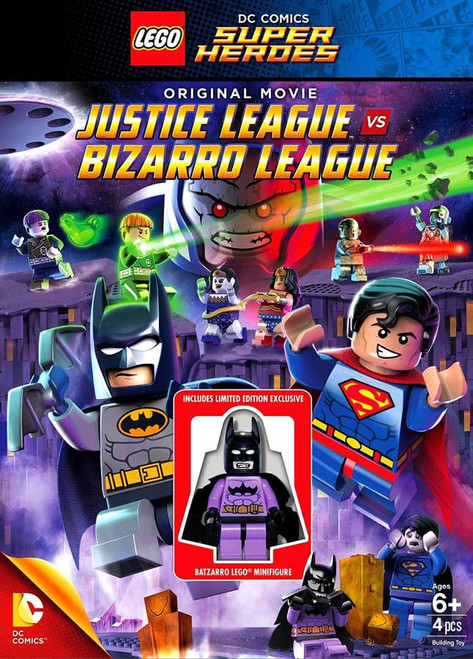 LEGO DC Universe Super Heroes Justice League vs Bizarro League DVD