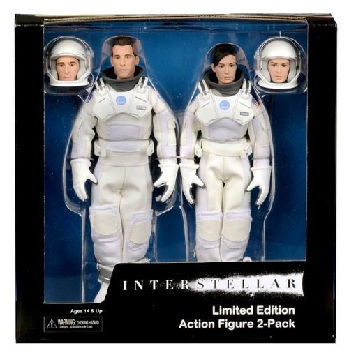 NECA Interstellar Brand & Cooper Action Figure 2-Pack