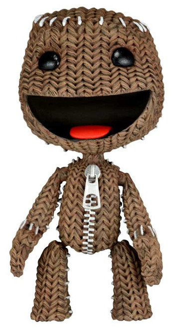 NECA Little Big Planet Happy Sackboy Action Figure