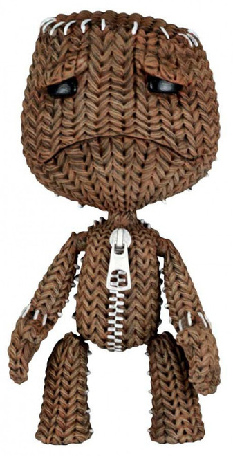 NECA Little Big Planet Series 1 Sad Sackboy Action Figure