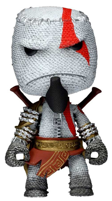 NECA Little Big Planet Series 1 Kratos Sackboy Action Figure