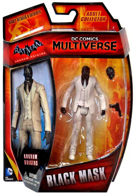 Batman Arkham Origins DC Comics Multiverse Black Mask Action Figure