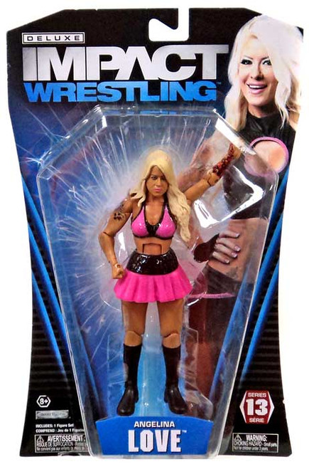 TNA Wrestling Deluxe Impact Series 13 Angelina Love Action Figure