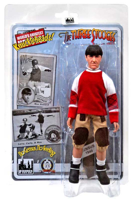 The Three Stooges No Census, No Feeling Moe Action Figure