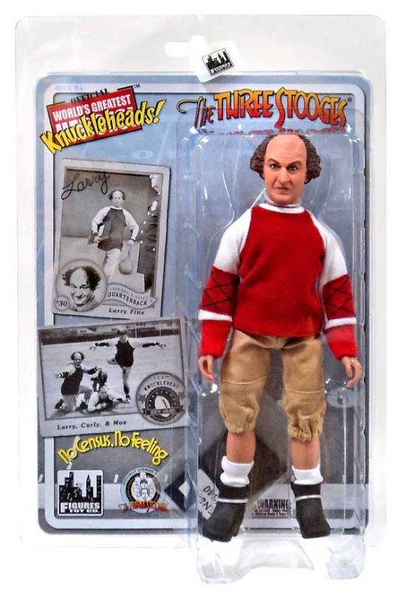 The Three Stooges No Census, No Feeling Larry Action Figure