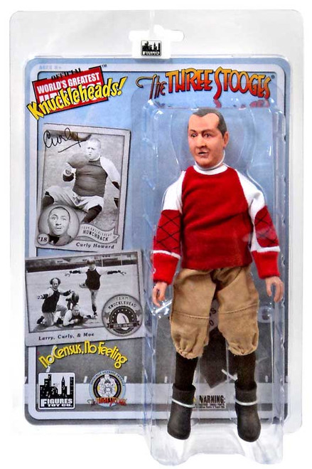 The Three Stooges No Census, No Feeling Curly Action Figure