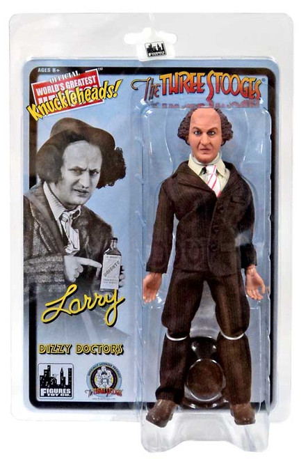 The Three Stooges Dizzy Doctors Larry Action Figure