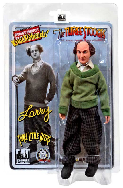 The Three Stooges Three Little Beers Larry Action Figure
