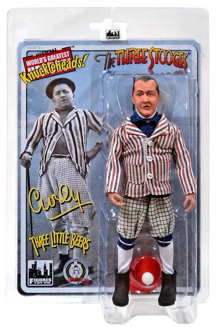 The Three Stooges Three Little Beers Curly Action Figure