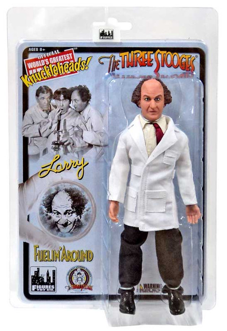 The Three Stooges Fuelin' Around Larry Fine Action Figure