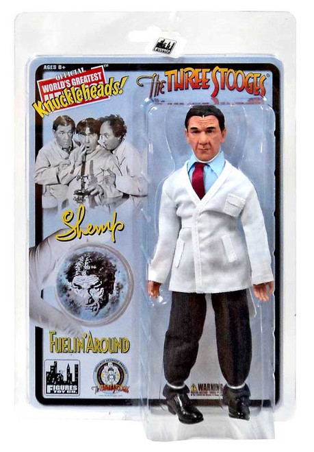 The Three Stooges Fuelin' Around Shemp Action Figure