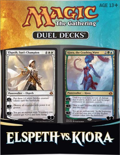 MtG Trading Card Game Kiora vs. Elspeth Duel Decks