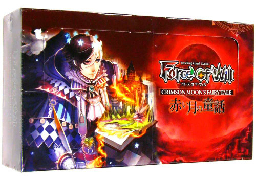 Force of Will Grimm Cluster Set 1 Crimson Moon's Fairy Tale Booster Box [36 Packs]