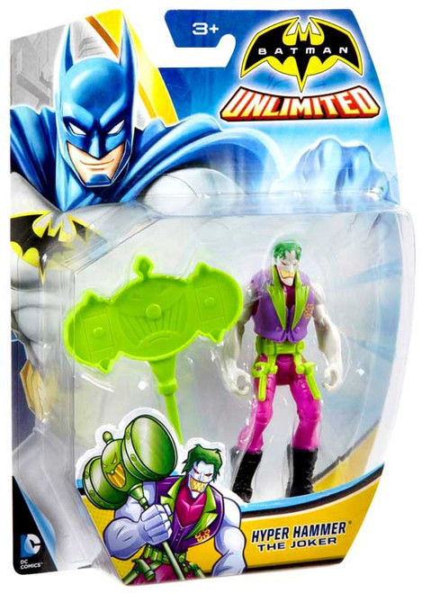 Batman Unlimited Hyper Hammer The Joker Action Figure