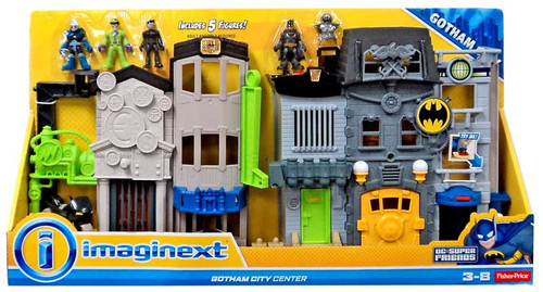 Fisher Price DC Super Friends Imaginext Gotham City Center 3-Inch Figure Set