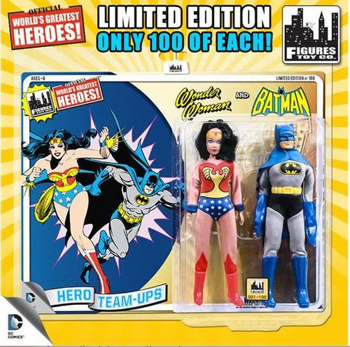 DC World's Greatest Super Heroes Retro Two-Pack Series 3 Wonder Woman & Batman Retro Action Figures