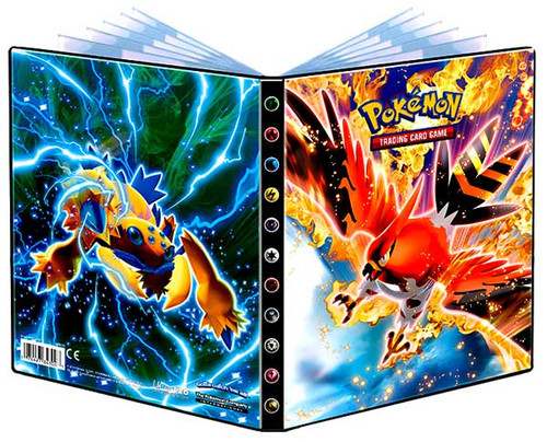 Ultra Pro Pokemon Trading Card Game Card Supplies Talonflame & Galvantula 4-Pocket Binder