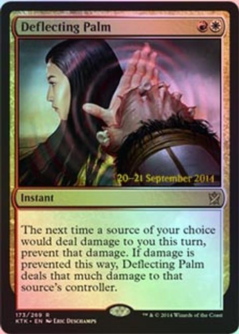 MtG Prerelease & Release Promo Deflecting Palm [Khans of Tarkir Prerelease]