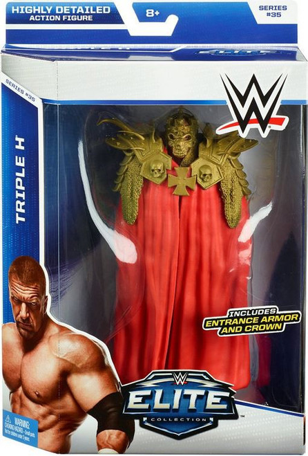 WWE Wrestling Elite Collection Series 35 Triple H Action Figure [Entrance Armor & Crown]