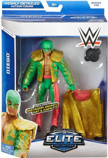 WWE Wrestling Elite Collection Series 35 Diego Action Figure [Matador Jacket, Hat & Cape]