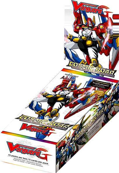 Cardfight Vanguard Trading Card Game Cosmic Roar Booster Box VGE-G-EB01 [15 Packs]