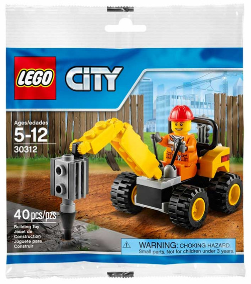LEGO City Demolition Driller Mini Set #30312 [Bagged]