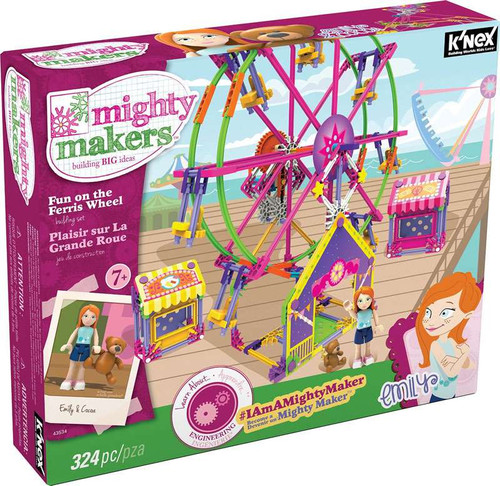 K'NEX Mighty Makers Fun on the Ferris Wheel Set