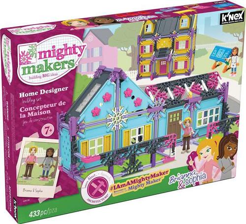 K'NEX Mighty Makers Home Designer Set [Brianna & Sophia]