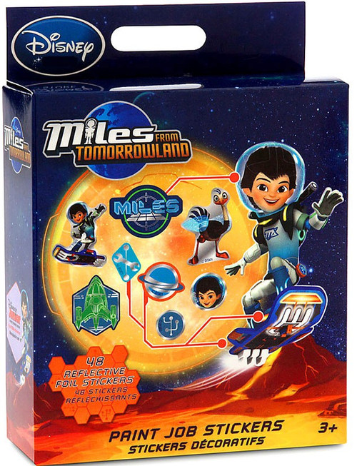 Disney Junior Miles From Tomorrowland Exclusive Stickers [Paint Job]