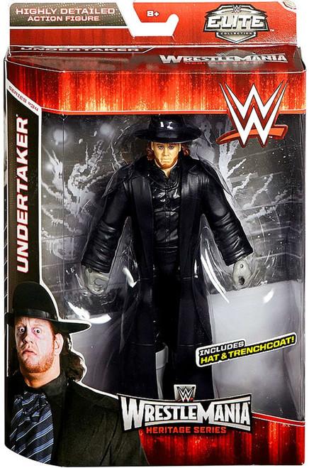 WWE Wrestling Elite Collection WrestleMania 31 Heritage Undertaker Exclusive Action Figure [Hat & Trenchcoat]