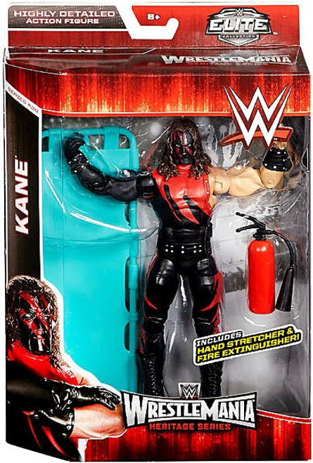 WWE Wrestling Elite Collection WrestleMania 31 Heritage Kane Exclusive Action Figure [Hand Stretcher & Fire Extinguisher]