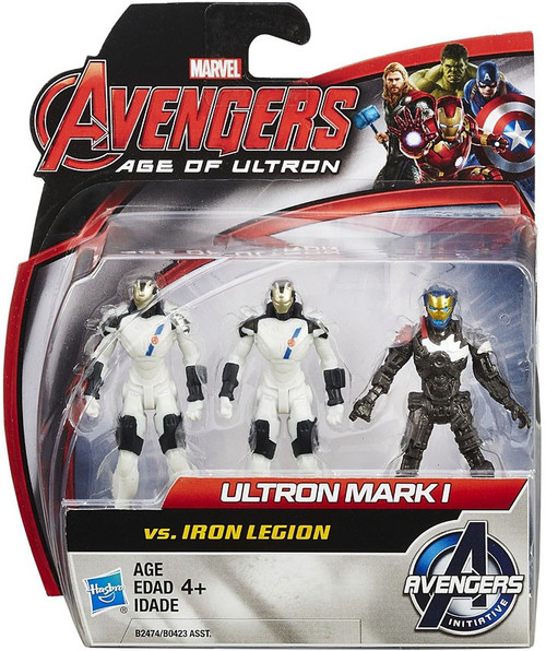 Marvel Avengers Age of Ultron Age of Ultron Ultron Mark 1 vs. Iron Legion Action Figure 2-Pack