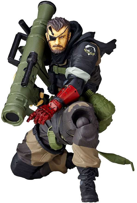 Metal Gear Solid Revoltech Venom Snake Action Figure