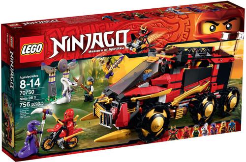 LEGO Ninjago Ninja DB X Set #70750
