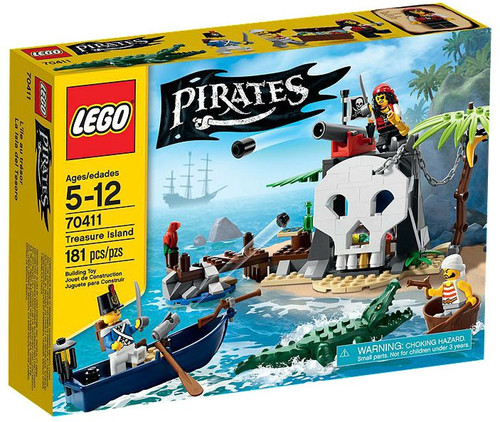 LEGO Pirates Treasure Island Set #70411