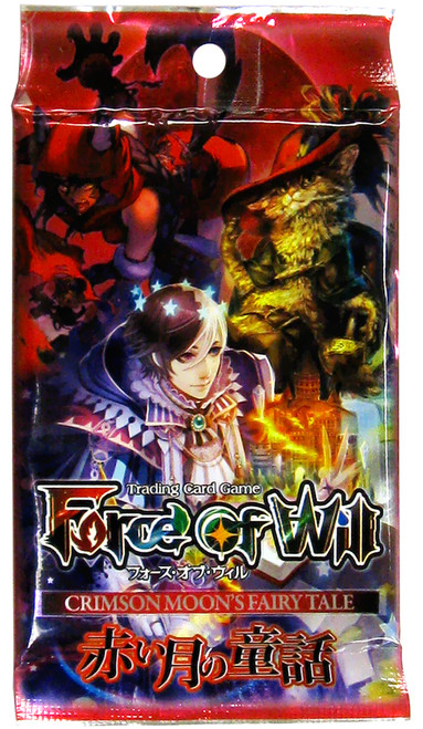 Force of Will Grimm Cluster Crimson Moon's Fairy Tale Booster Pack